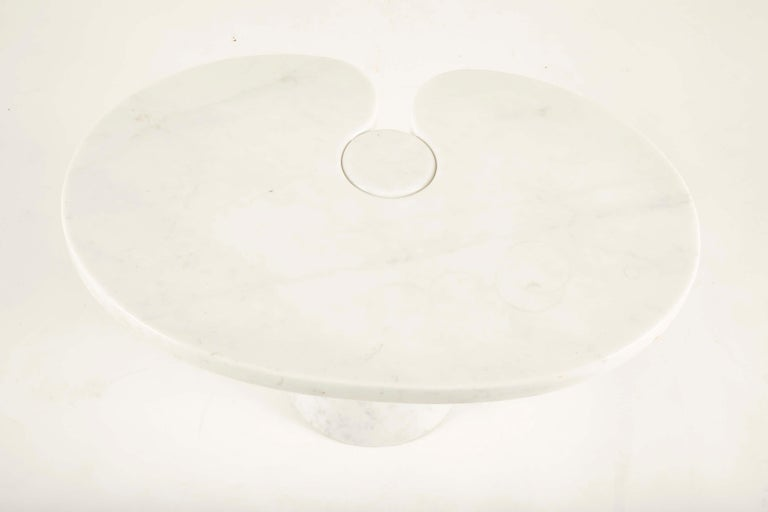 Pair of Angelo Mangiarotti Carrara Side Tables for Skipper Sold Individually For Sale 2