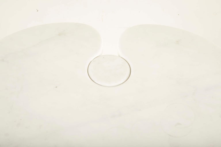 Pair of Angelo Mangiarotti Carrara Side Tables for Skipper Sold Individually For Sale 3