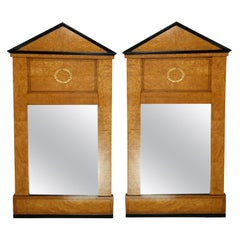 Pair of Antique Biedermeier Mirrors