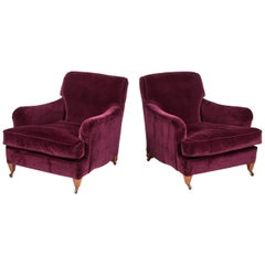 Pair of Armchairs in the Howard Style