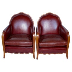 Pair of Art Deco Armchairs, French, circa 1925