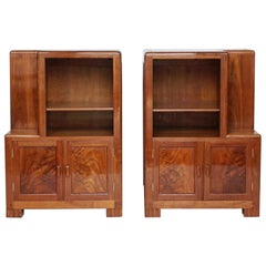 Pair of Art Deco Bedside Cabinets by Betty Joel