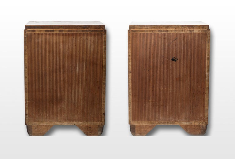 Pair of Art Deco Bedside Tables, circa 1930 For Sale 6