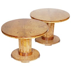 Pair of Art Deco Centre Tables by Harry & Lou Epstein English, circa 1930