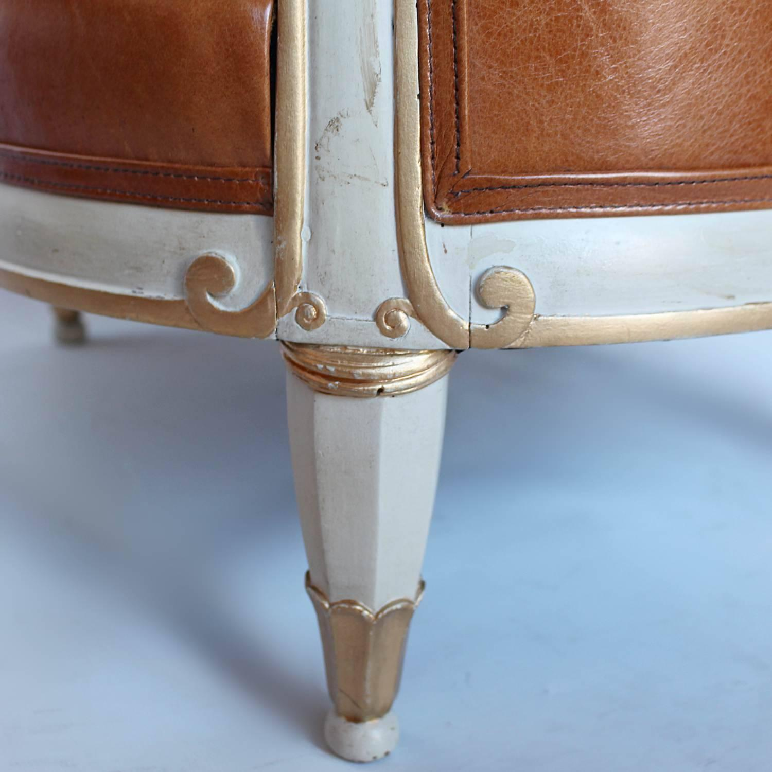 Pair of Art Deco Tub Chairs at 1stdibs