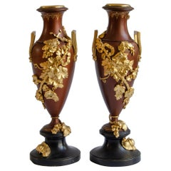 A Pair of Art Nouveau Amphorae