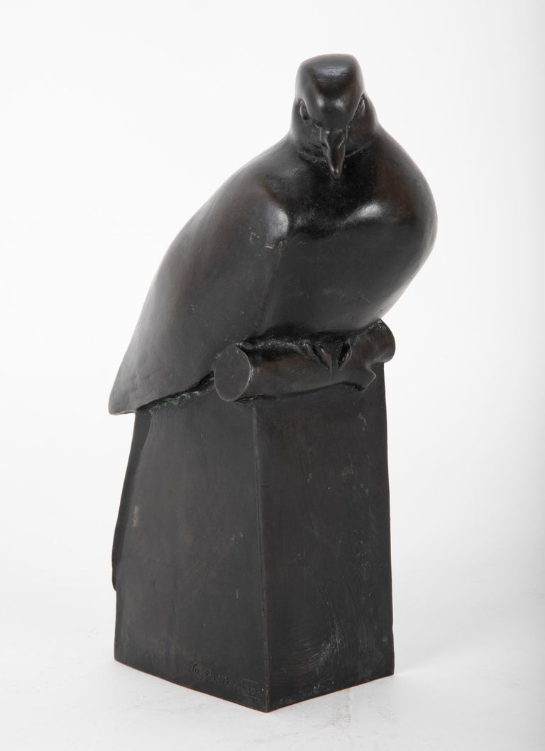 Pair of Bronze Sculptures after François Pompon For Sale 5
