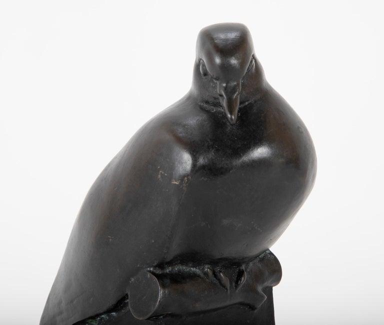 Pair of Bronze Sculptures after François Pompon For Sale 6