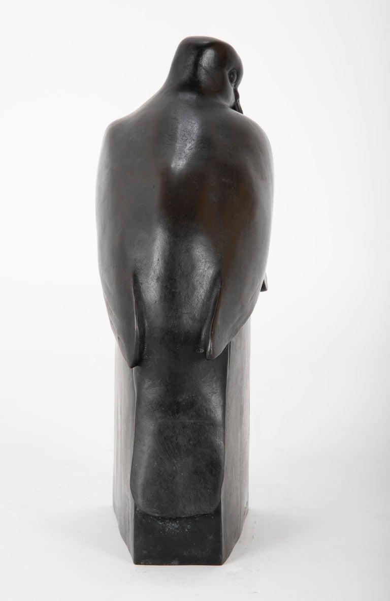 Pair of Bronze Sculptures after François Pompon For Sale 8