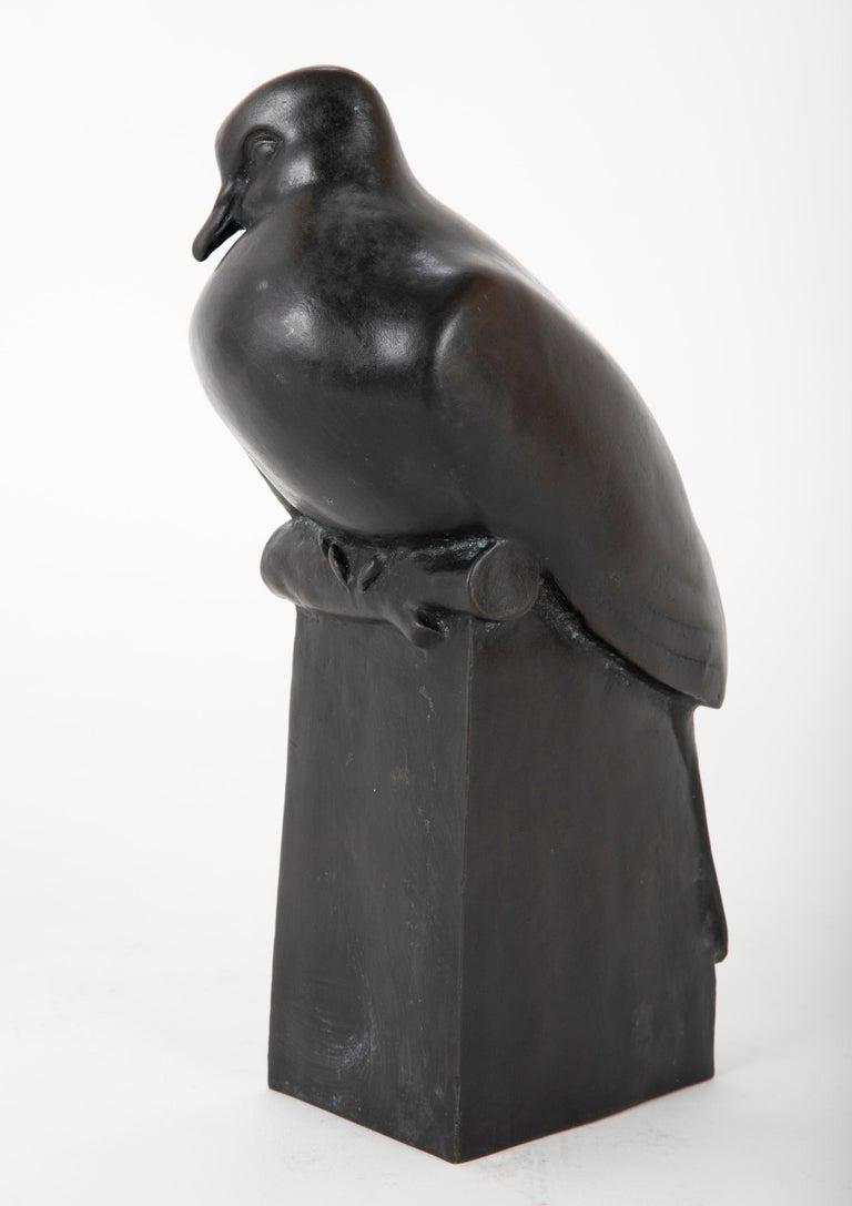 Pair of Bronze Sculptures after François Pompon For Sale 9