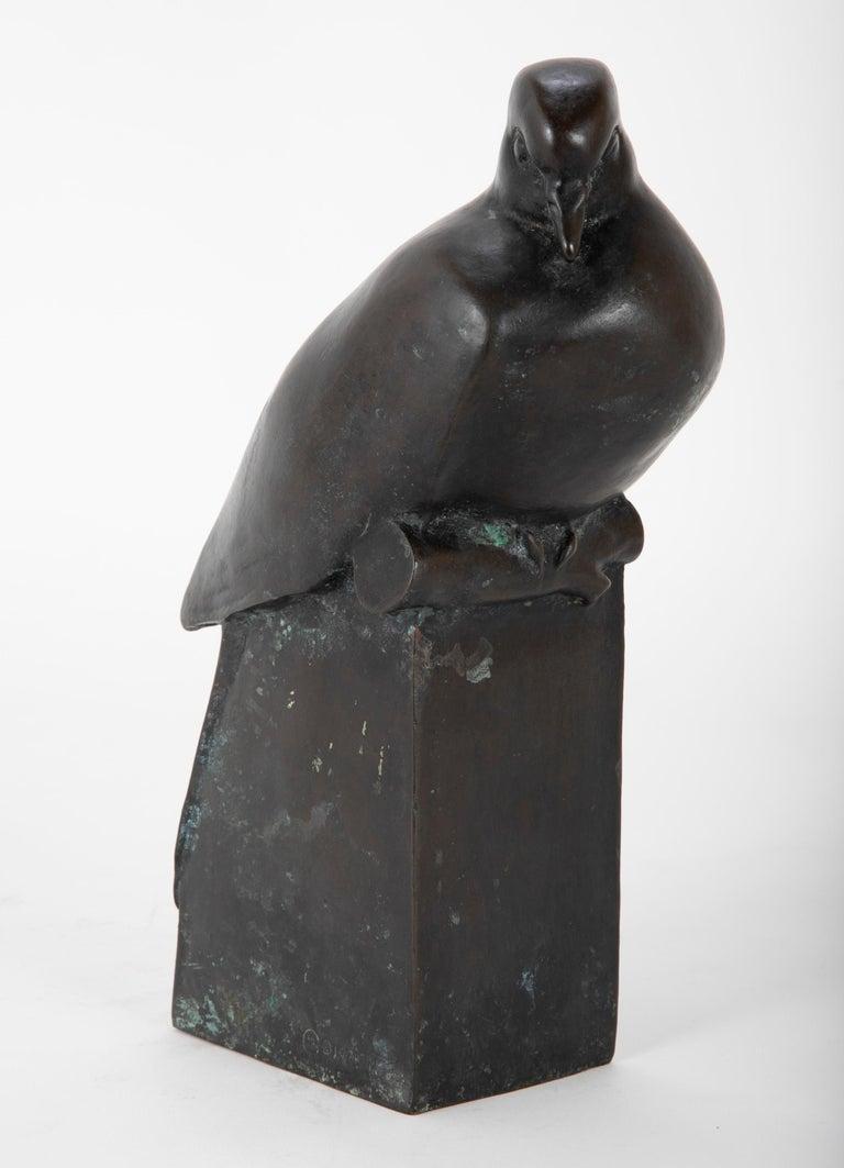 Late 20th Century Pair of Bronze Sculptures after François Pompon For Sale