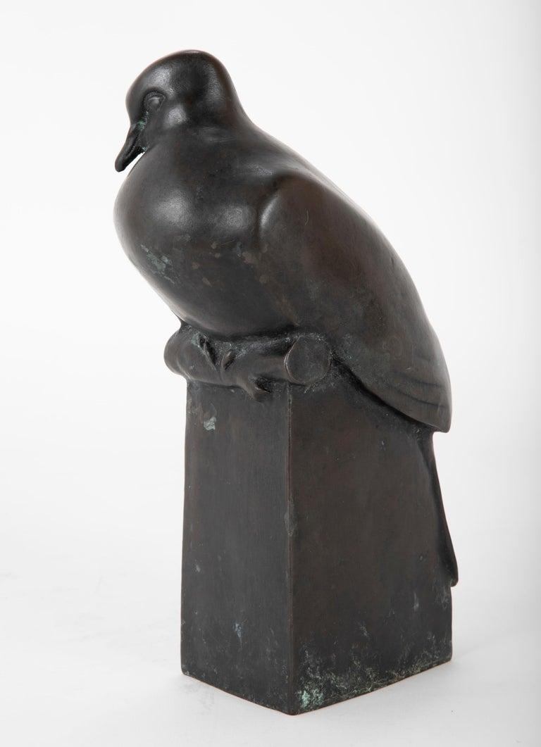 Pair of Bronze Sculptures after François Pompon For Sale 1