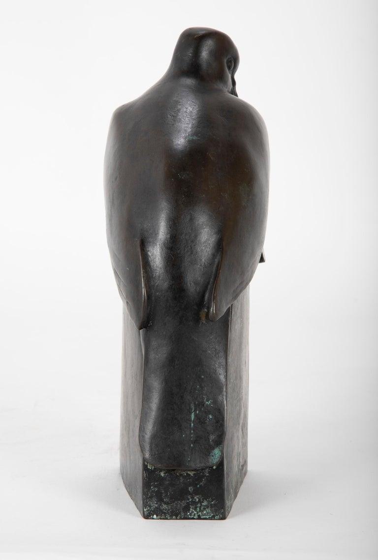 Pair of Bronze Sculptures after François Pompon For Sale 2