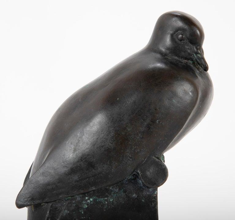 Pair of Bronze Sculptures after François Pompon For Sale 3