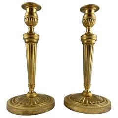 Pair of Candlesticks, France, circa 1800