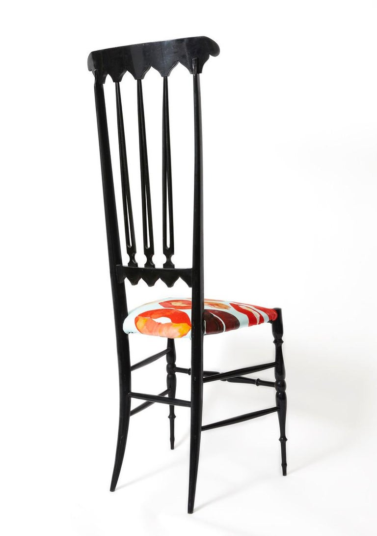 Pair of Chiavari Chairs Model Spada In Good Condition For Sale In Hudson, NY