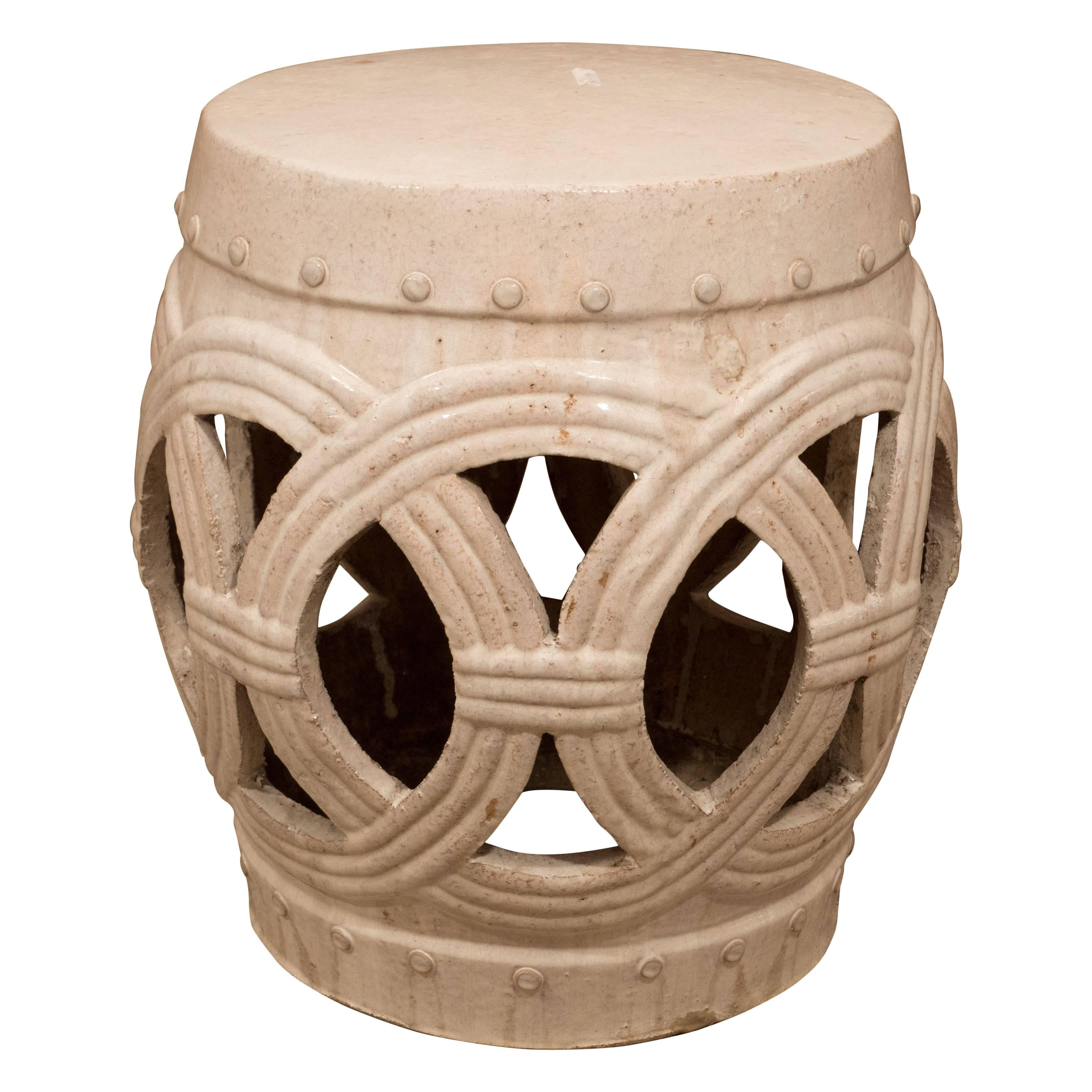 A Chinese Ceramic Garden Stool