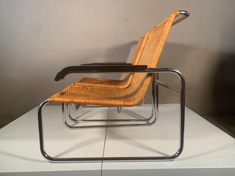 Late 20th Century Pair of Classic Marcel Breuer B35 Chairs ICF