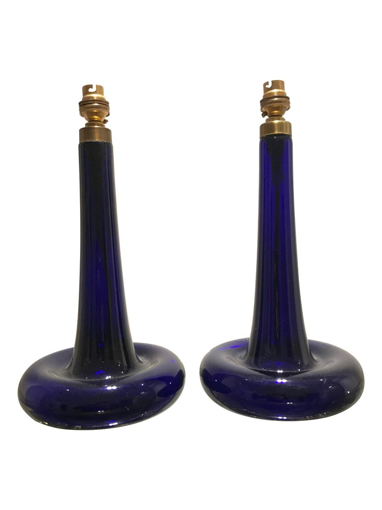 Pair of Cobalt Blue