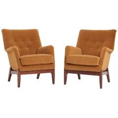 Pair of Danish Midcentury Armchairs