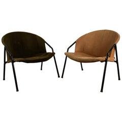 Pair of Designer Armchairs Erzeugnis Lusch, Lusch & Co, 1960s