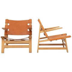 Pair of Easy Chairs by Børge Mogensen
