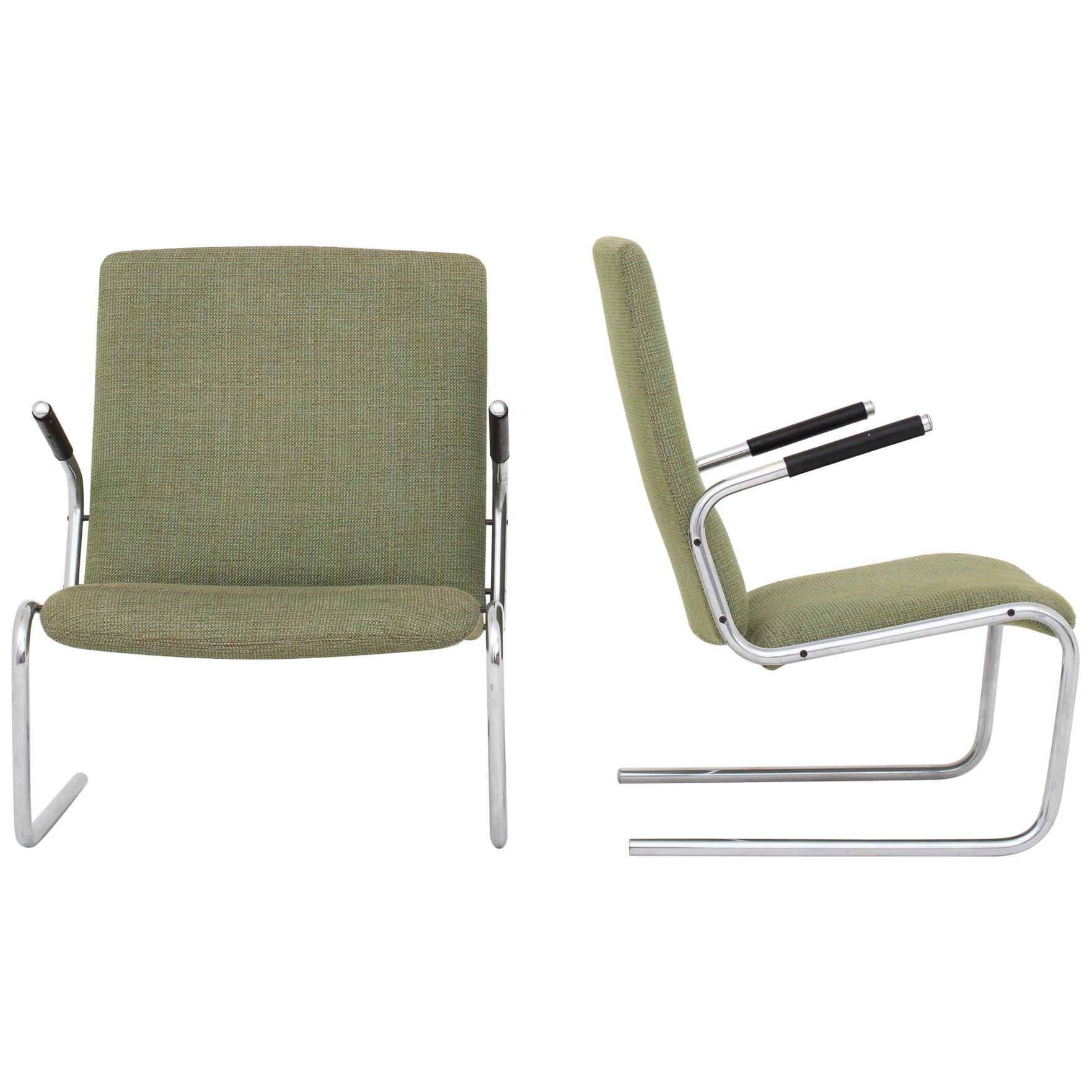 Pair of Easy Chairs by Preben Fabricius & Jørgen Kastholm