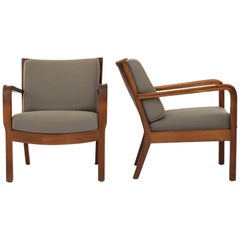 Pair of Easy Chairs by Tove & Edvard Kindt Larsen.
