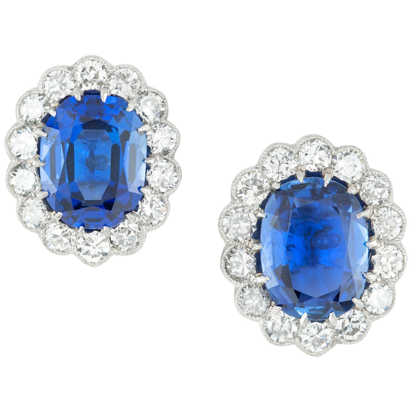 George V Earrings