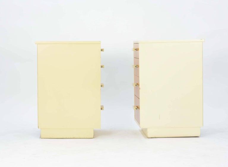 Pair of Eliel Saarinen and Pipsan Saarinen Swanson's Nightstands for Johnson In Good Condition For Sale In Portland, OR