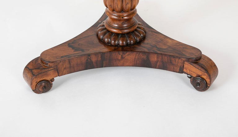 Pair of English William iv Rosewood Cocktail Tables, circa 1840 For Sale 9