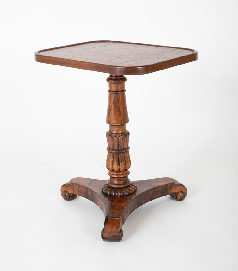 Pair of English William iv Rosewood Cocktail Tables, circa 1840 For Sale 3