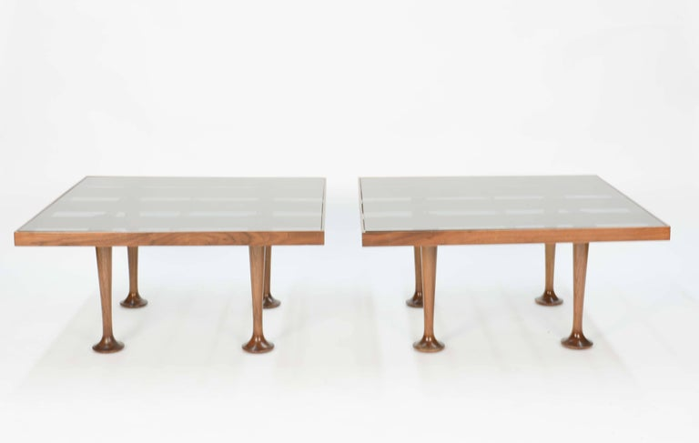 Pair of Finely Detailed and Elegant Italian Monumental Side Tables For Sale 5