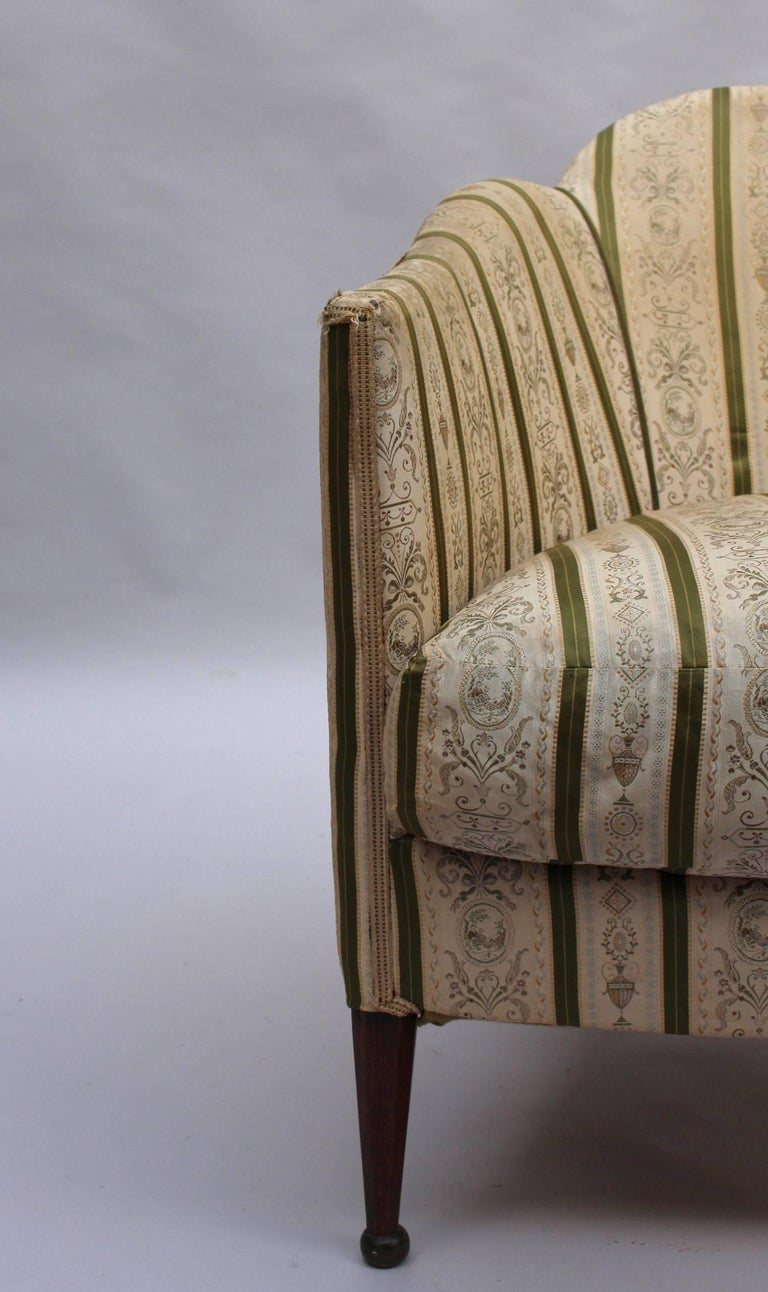 Pair of French Art Deco Armchairs For Sale 6