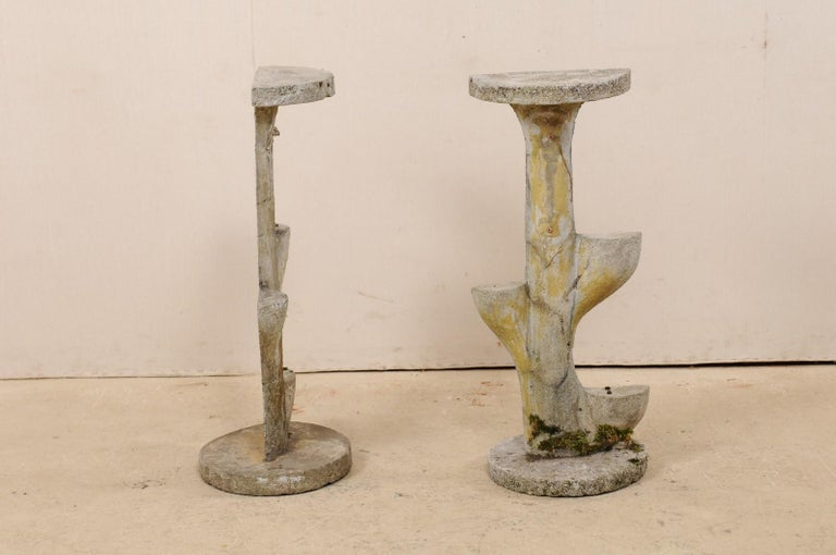Pair of French Garden Sculptural Accents, Mid-20th Century For Sale 1