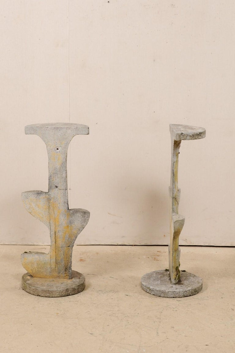 Pair of French Garden Sculptural Accents, Mid-20th Century For Sale 2