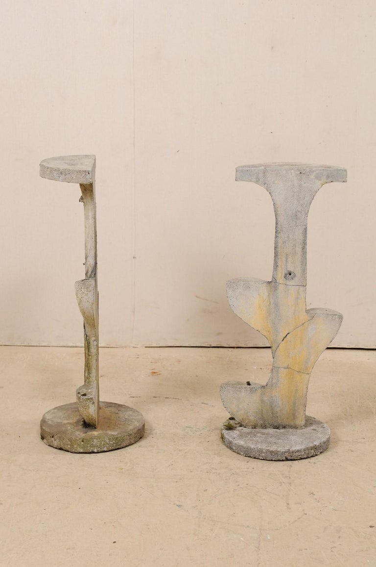 Pair of French Garden Sculptural Accents, Mid-20th Century For Sale 3