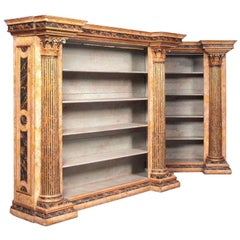 An Early 20th Century Pair of French Neoclassical Style Bookshelves