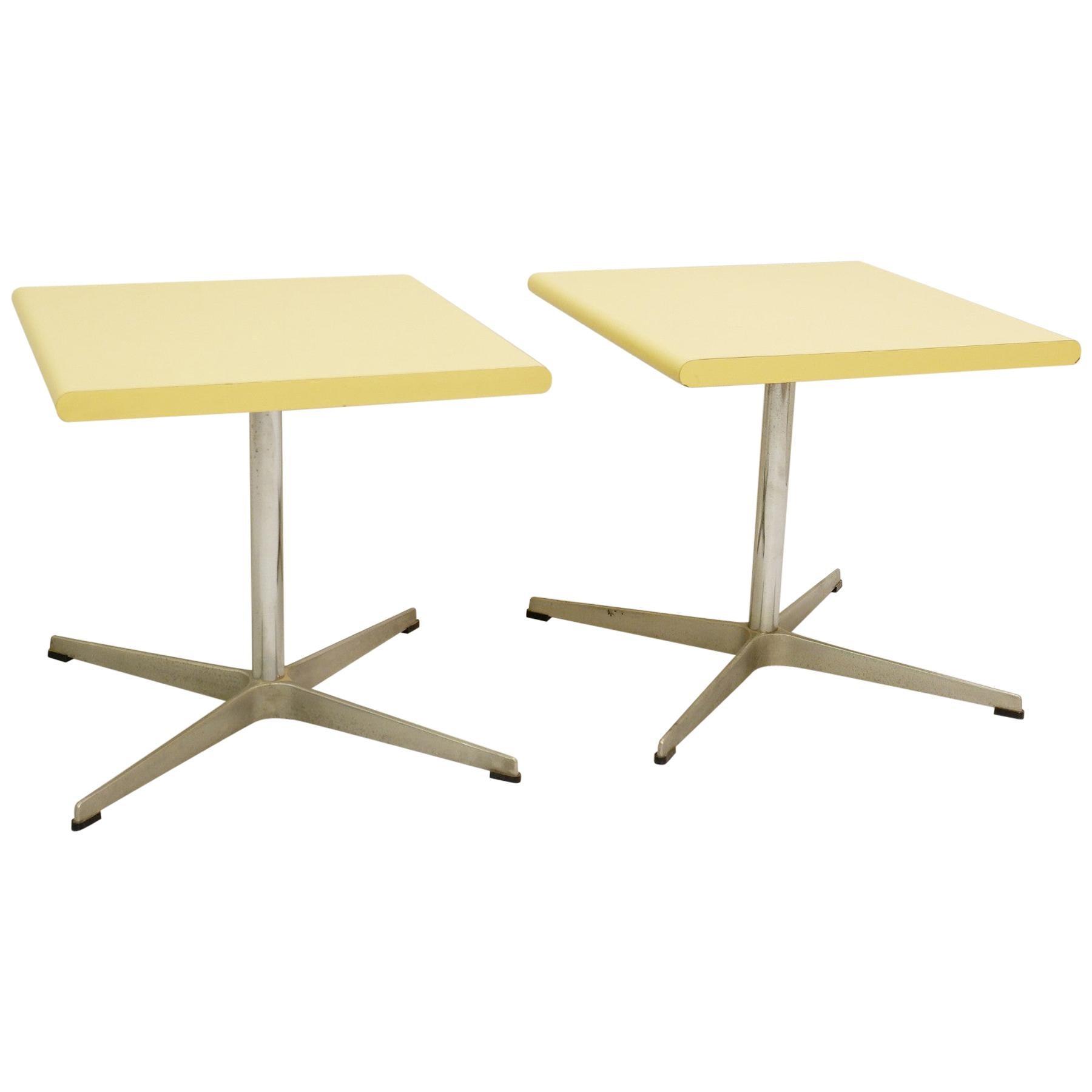Pair of Fritz Hansen Side Table