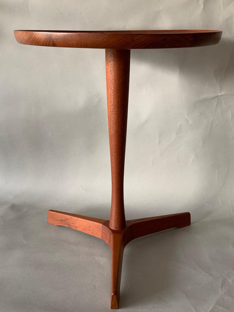 Pair of Hans Andersen Teak Side Tables For Sale 1