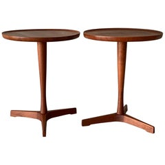 Pair of Hans Andersen Teak Side Tables