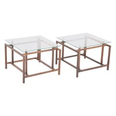 Pair of Henning Norgaard Rosewood End Tables by Komfort Mobler, Denmark