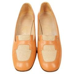 A Pair of Hermès Shoes Circa 2000