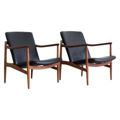 Pair of Jacob Kjaer Easy Chairs, 1954