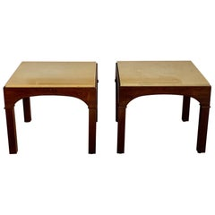A Pair of John Keal for Brown Saltman Low Tables