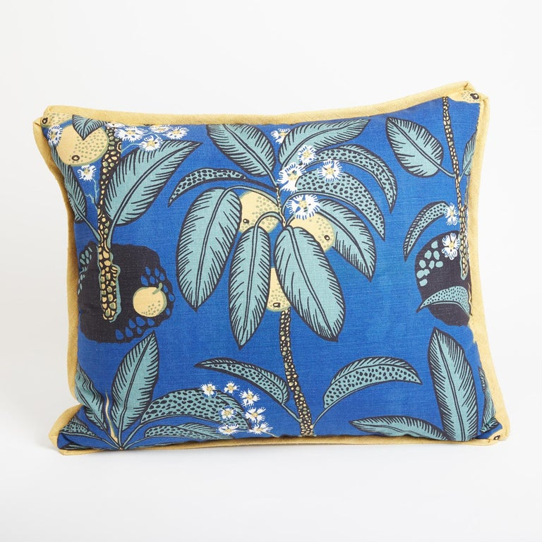A pair of Josef Frank Notturno rectangular cushions. Also available individually.