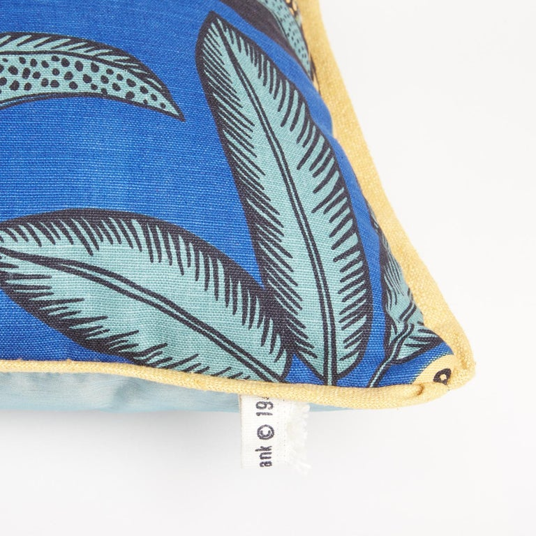 American Pair of Josef Frank Notturno Cushions For Sale