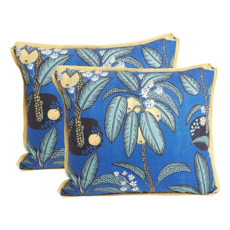 Pair of Josef Frank Notturno Cushions For Sale