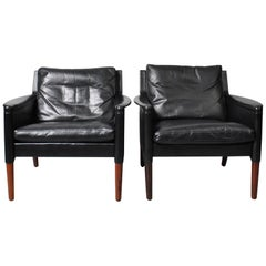 Pair of Kurt Ostervig Model 55 Lounge Chairs