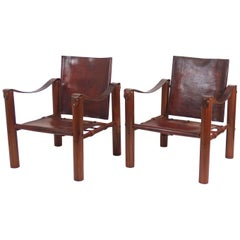 """Pair of """"Labourdette"""" Armchairs Attributed to Eileen Gray"""